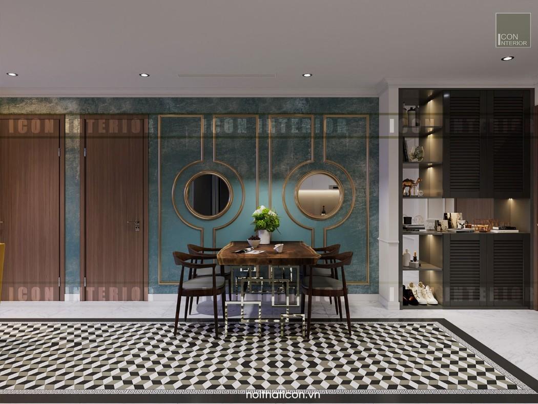 phong cách đông dương trong thiết kế nội thất phòng ăn