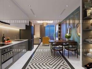 phong cách đông dương trong thiết kế nội thất tiền sảnh