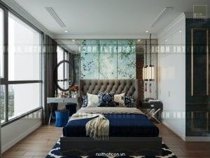 phong cách đông dương trong thiết kế nội thất phòng ngủ