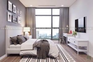 thiết kế phòng ngủ nhỏ chung cư