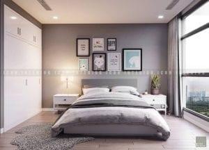 thiết kế phòng ngủ bé chung cư