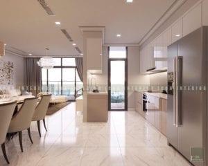 thiết kế tiền sảnh chung cư