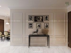 mẫu thiết kế căn hộ chung cư đẹp