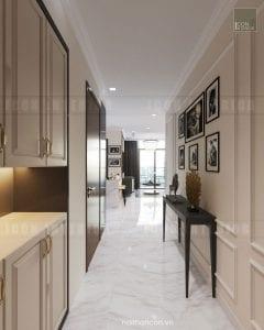 mẫu thiết kế tiền sảnh căn hộ chung cư đẹp