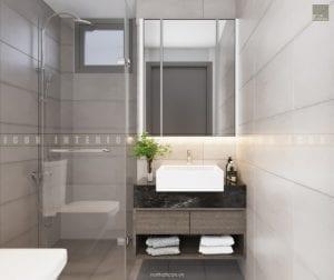dự án the gold view quận 4 - thiết kế toilet