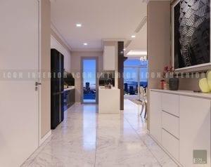 thiết kế tiền sảnh chung cư cao cấp