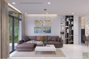 thiết kế nội thất nhà xinh - phòng khách