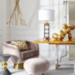 thiết kế nội thất chung cư sang trọng - kim loại đánh bóng 5
