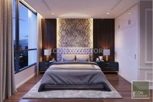 thiết kế phòng ngủ master vinhomes central park