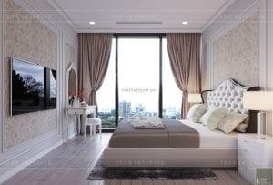 Thiết kế nội thất chung cư phòng ngủ nhỏ