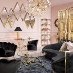 thiết kế nội thất chung cư sang trọng - họa tiết hình học 2