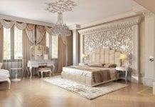 phong cách nội thất baroque phòng ngủ