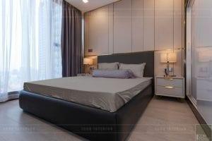 thi công nội thất vinhomes golden river - phòng ngủ