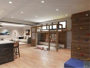 thiết kế biệt thự nghỉ dưỡng - phòng bé