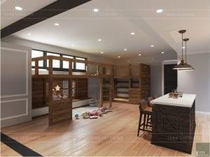 thiết kế biệt thự nghỉ dưỡng - phòng trẻ