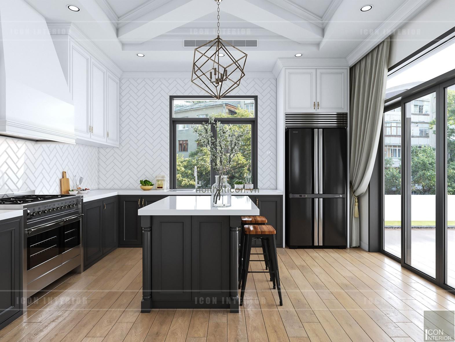 thiết kế biệt thự nghỉ dưỡng - nhà bếp