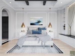 thiết kế biệt thự nghỉ dưỡng - phòng ngủ