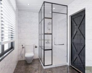 thiết kế nhà tắm biệt thự