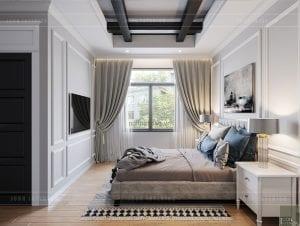 thiết kế biệt thự nghỉ dưỡng - phòng ngủ nhỏ