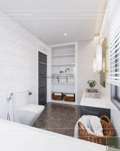 thiết kế biệt thự nghỉ dưỡng - phòng vệ sinh
