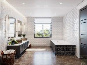 thiết kế biệt thự nghỉ dưỡng - phòng tắm