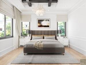 thiết kế biệt thự nghỉ dưỡng - master room