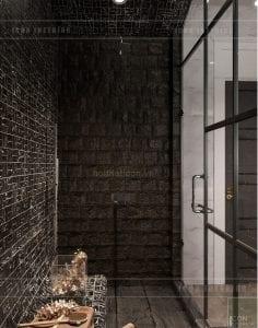 thiết kế phòng tắm biệt thự