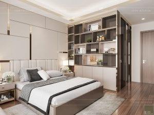 phòng ngủ căn hộ sarica sala khu đô thị quận 2