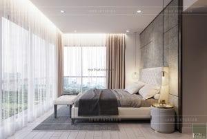 phòng master chung cư gateway thảo điền