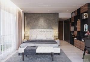 thiết kế phòng master chung cư gateway thảo điền