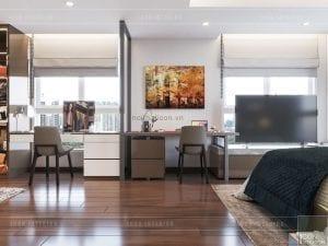 thiết kế nội thất nhà chung cư đẹp - phòng master