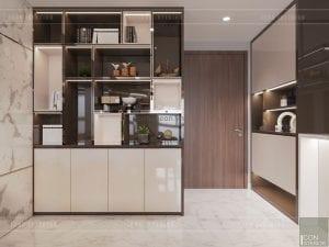 thiết kế nội thất nhà chung cư đẹp - tiền sảnh