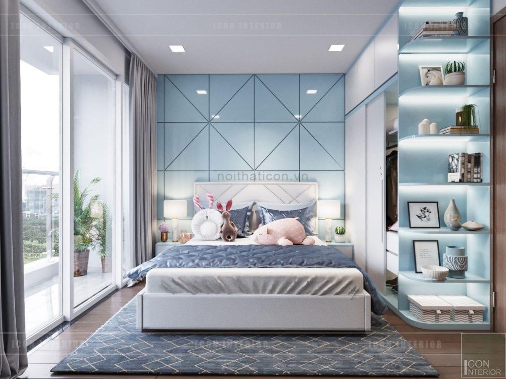 Mẫu phòng ngủ hiện đại của song ngư