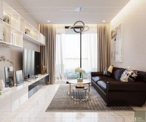 tư vấn thiết kế nội thất căn hộ chung cư - phòng khách