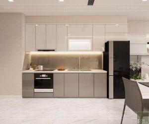 tư vấn thiết kế nội thất căn hộ chung cư - nhà bếp