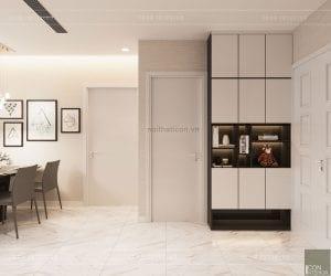 tư vấn thiết kế nội thất căn hộ chung cư - tiền sảnh