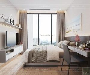 tư vấn thiết kế nội thất căn hộ chung cư - phòng ngủ
