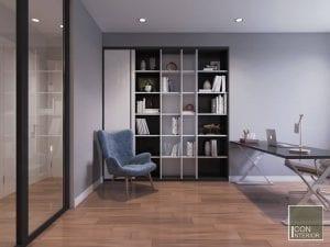 phòng đa năng thiết kế chung cư 50m2