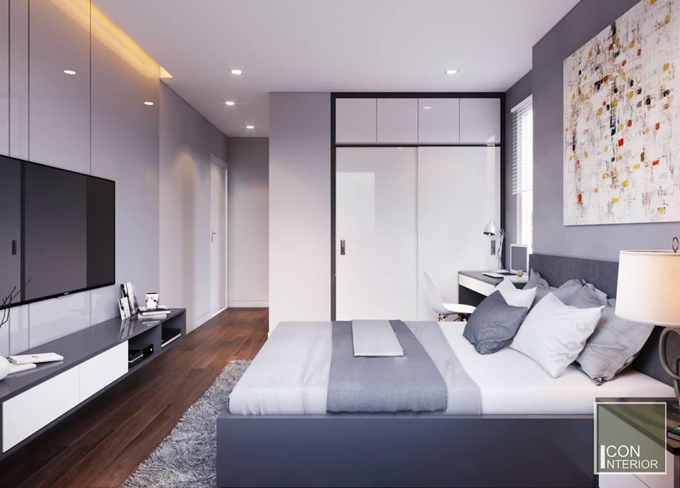 thiết kế nhà chung cư 50m2 tiện nghi