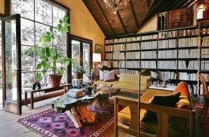 cho thuê nhà airbnb - thiết kế phòng đọc sách nhà airbnb