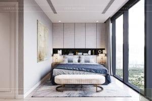 thiết kế nội thất căn hộ 3 phòng ngủ phòng ngủ nhỏ