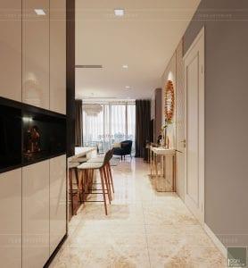 thiết kế chung cư vinhomes ba son - tiền sảnh