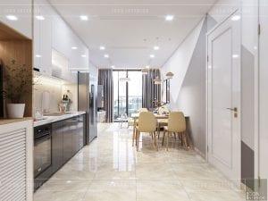 thiết kế căn hộ Scandinavian - tiền sảnh
