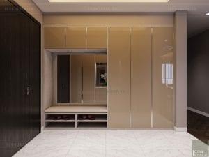 thiết kế căn hộ grand riverside - tiền sảnh