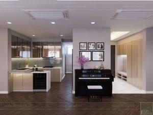 thiết kế căn hộ grand riverside - piano