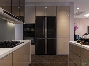 thiết kế căn hộ grand riverside - nhà bếp