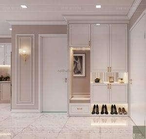 tư vấn thiết kế nội thất căn hộ - tiền sảnh