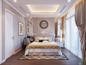 tư vấn thiết kế nội thất căn hộ phòng ngủ master