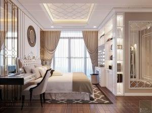 tư vấn thiết kế nội thất căn hộ - phòng ngủ