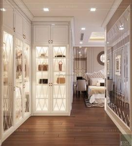 tư vấn thiết kế nội thất căn hộ phòng master